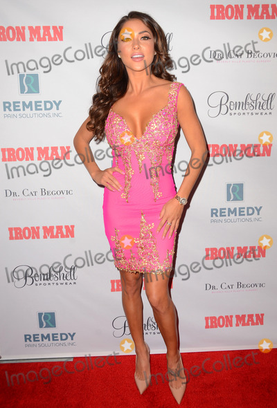 Airanny Celeste Photo - 02 March 2015 - Hollywood California - Airanny Celeste Relaunch party for Iron Man Magazine held at Boulevard 3 Photo Credit Birdie ThompsonAdMedia