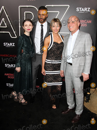 Chris Albrecht,Emily Browning Photo - American Gods Premiere