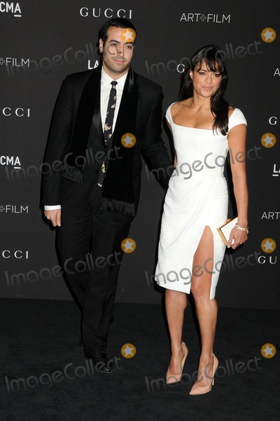 Mohammed Al Turki Photo - 1 November 2014 - Los Angeles California - Mohammed Al Turki Michelle Rodriguez LACMA Art  Film Gala 2014 held at the LA County Museum of Art Photo Credit Byron PurvisAdMedia