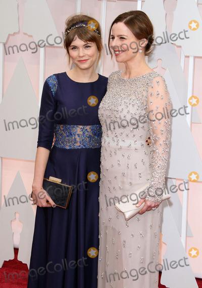 Agata Trzebuchowska,Agata Kulesza Photo - 87th Annual Academy Awards - Arrivals