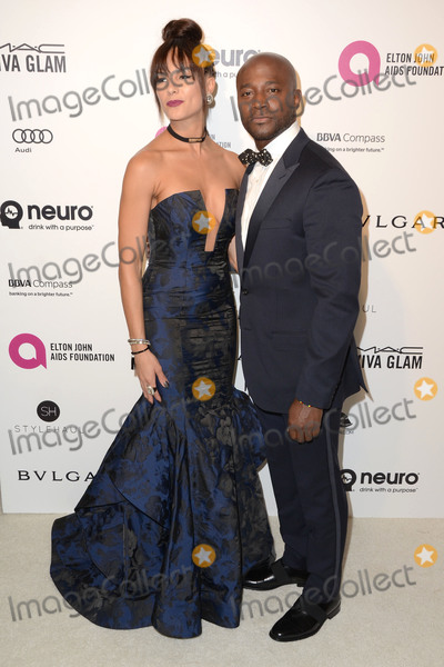Taye Diggs Photo - 28 February 2016 - West Hollywood California - Amanza Smith Taye Diggs 24th Annual Elton John Academy Awards Viewing Party sponsored by Bvlgari MAC Cosmetics Neuro Drinks and Diana Jenkins held at West Hollywood Park Photo Credit Birdie ThompsonAdMedia