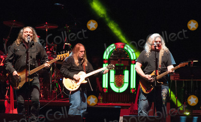 Kentucky Headhunters Photo - 22 November 2013 - Nashville Tennessee - The Kentucky Headhunters Greg Martin Doug Phelps Richard Young George Jones Tribute Concert Playin Possum The Final No Show held at Bridgestone Arena George Jones was on his farewell tour titled The Grand Tour when he passed away on April 12 2013 at the age of 81 George Jones was the 2 best-charting country artist of all time with 143 Top 40 hits since starting his career in the 50s Nashville honored the music legend with an all-star tribute the date that Jones was to perform the final show of his illustrious career Photo Credit Ryan PavlovAdMedia