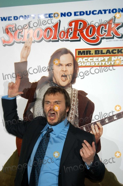 Jack Black Photo - School Of Rock  World Premiere