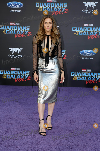 Allison Holker Photo - Guardians of the Galaxy Vol 2  Los Angeles Premiere