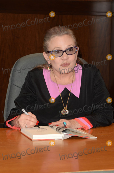 Photos From Carrie Fisher book signing for 'The Princess Diarist'