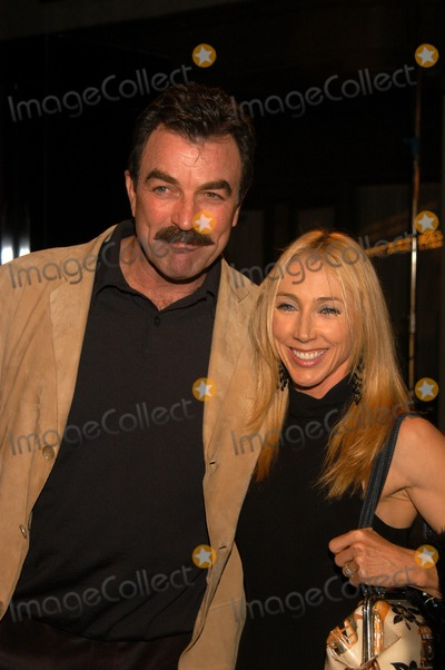 Tom selleck and wife jilly mack at the premiere of tnt s quot monte walsh