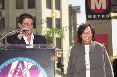 Brett Ratner,Jackie Chan Photo - Jackie Chan Star on the Walk of Fame