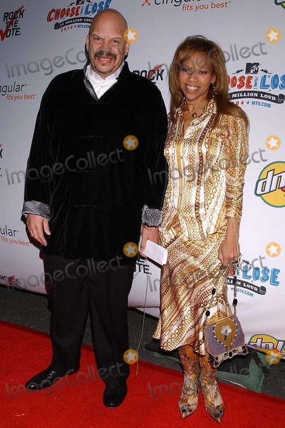 Donna Richardson Photo - Tom Joyner and Donna Richardson at the Rock The Vote Awards Hollywood Palladium Hollywood CA 02-07-04