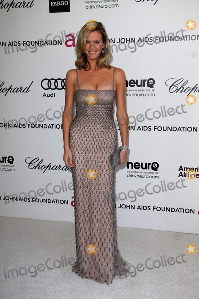 Elton John,Brooklyn Decker Photo - 20th Annual Elton John AIDS Foundation Academy Awards Party