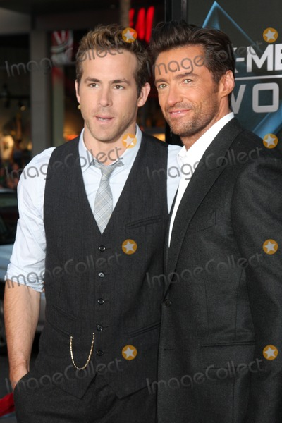 ryan reynolds x men wolverine. Ryan Reynolds Hugh Jackman
