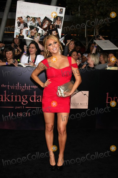 Cassie Scerbo,Cassie Photo - Twilight Breaking Dawn Part 1 World Premiere