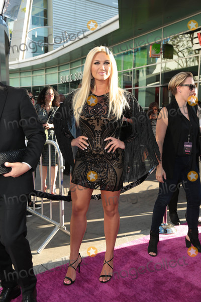 Photos From Brooke Hogan at the premiere of 'Glow'