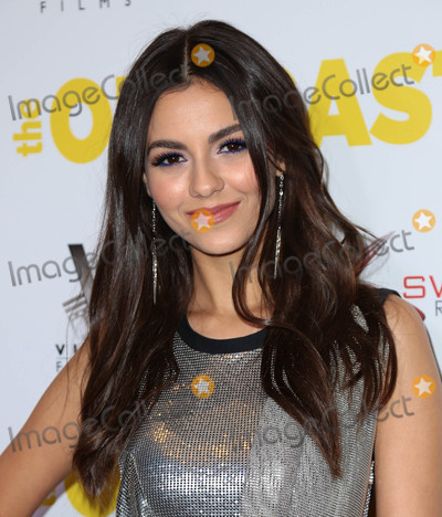 Photos From Victoria Justice at the premiere of 'The Outcasts'