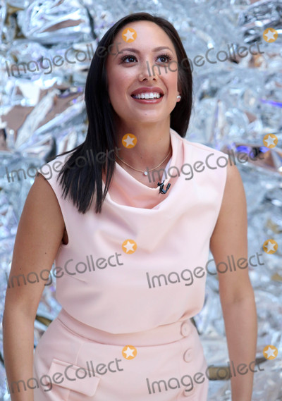Photo - Photo by KGC-146starmaxinccomSTAR MAX2016ALL RIGHTS RESERVEDTelephoneFax (212) 995-11968301683016Ryan Locate Laurie Hernandez and Cheryl Burke reveal the Dancing with The Stars cast at Good Morning America in New York City