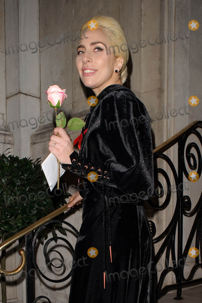 Photos From Lady Gaga is seen in London, England - 12/1/16