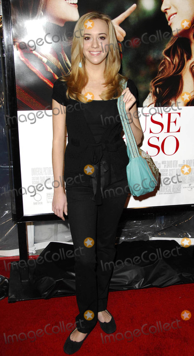 Andrea Bowen Photo - Premiere of because i said so (Los Angeles CA)