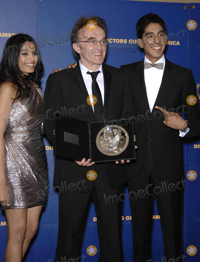 Danny Boyle,Dev Patel,Freida Pinto Photo - 61st annual dga awards (Los Angeles CA)