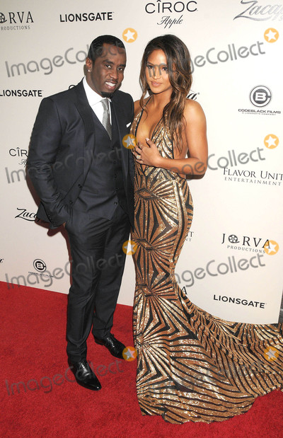 Diddy Combs Photo - Photo by GalaxystarmaxinccomSTAR MAX2016ALL RIGHTS RESERVEDTelephoneFax (212) 995-11963716Sean P Diddy Combs and Cassie Ventura at the premiere of The Perfect Match(Los Angeles CA)