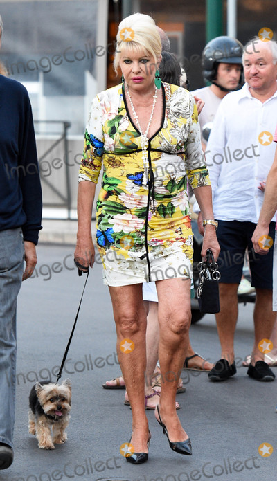 Photos From Ivana Trump is seen in Saint Tropez, France