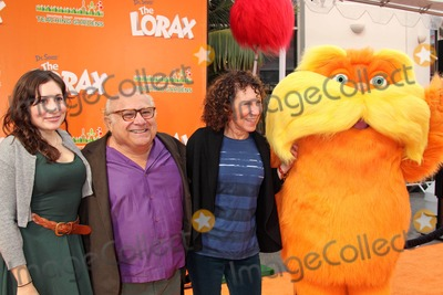 The Lorax,Rhea Perlman,Danny De Vito,RES Photo - Dr Seuss The Lorax Premiere