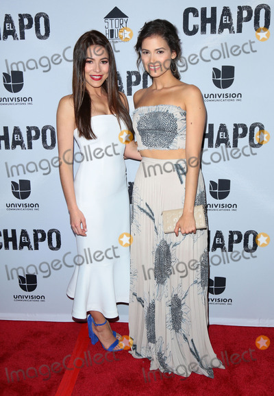 Abril Schreiber,Juliette Pardau Photo - El Chapo premiere in Los Angeles CA
