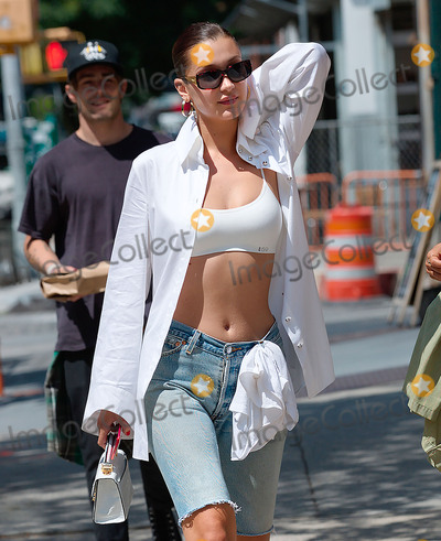 Photos From Bella Hadid sighting in New York City
