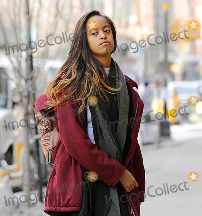 Photos From Malia Obama sighting in New York City