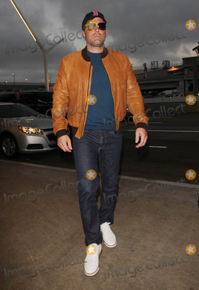 Photos From Ben Affleck at LAX Airport