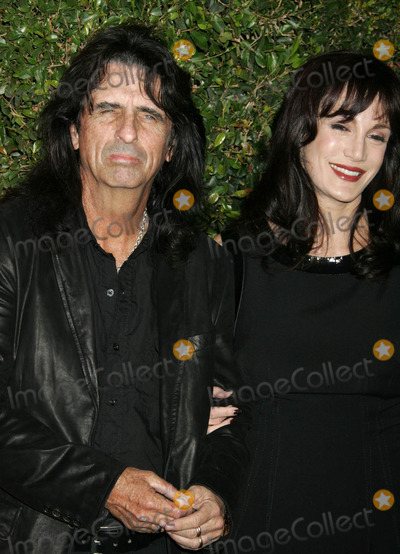 RES,Alice Cooper Photo - Alice Cooper and his wife Sheryl at Spike TVs Scream 2007 (Los Angeles CA)