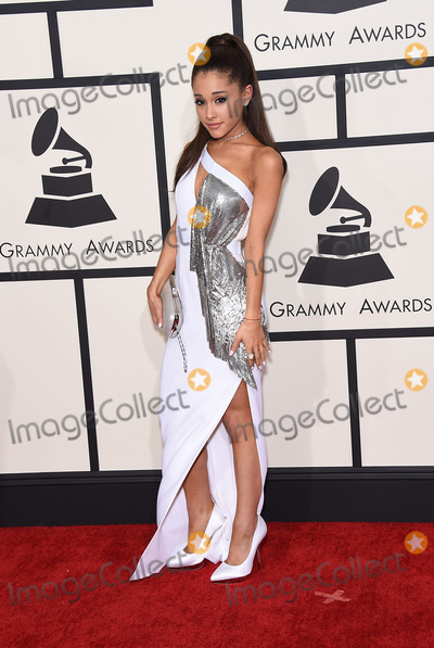 Ariana Grande Photos - Photo by KGC-11starmaxinccomSTAR MAX2015ALL RIGHTS RESERVEDTelephoneFax (212) 995-11962815Ariana Grande at the 57th Grammy Awards(Los Angeles CA)