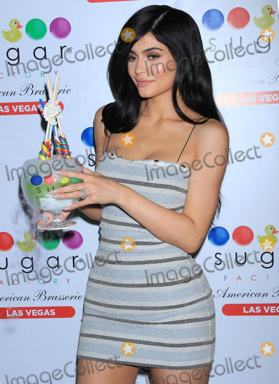 Photos From Kylie Jenner at the Grand Opening Celebration of 'Sugar Factory'