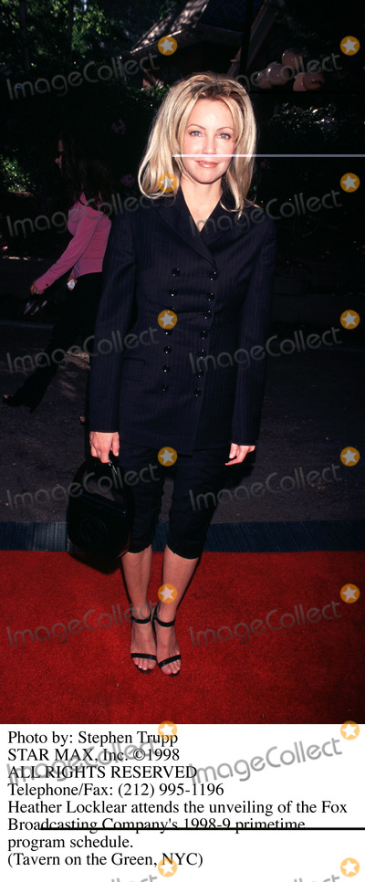 Heather Locklear Photo - Photo by Stephen TruppSTAR MAX Inc - copyright 1998Heather Locklear
