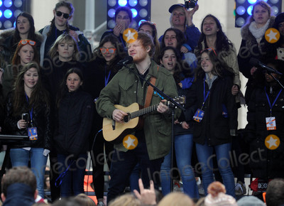 Photos From Ed Sheeran performs on The Today Show in New York City