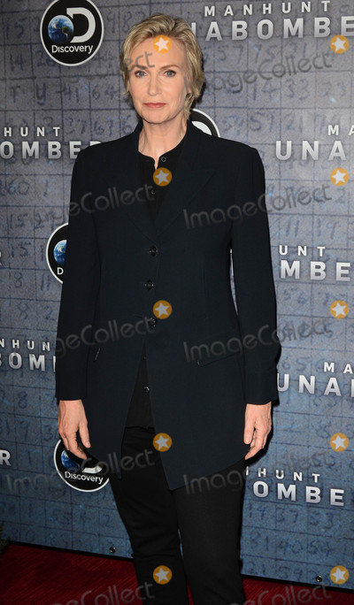Photo - Photo by Patricia SchleinstarmaxinccomSTAR MAXCopyright 2017ALL RIGHTS RESERVEDTelephoneFax (212) 995-119671917Jane Lynch at the premiere of Discoverys Manhunt Unabomber in New York City(NYC)
