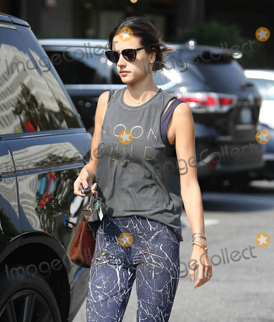 Photos From Alessandra Ambrosio in Los Angeles, CA