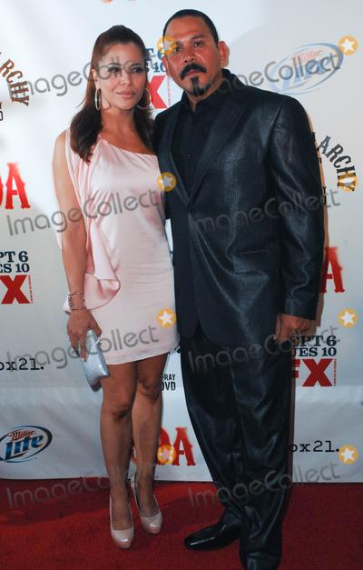 Emilio Rivera and wife