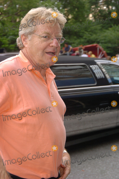 RITZ CARLTON,Jerry Springer Photo - JERRY SPRINGER AND DAUGHTER KATIE IN NYC