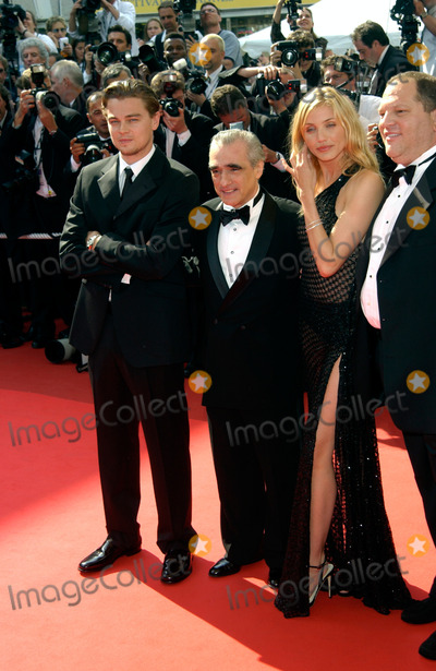 Cameron Diaz,Harvey Weinstein,Martin Scorsese Photo - Cannes Film Festival