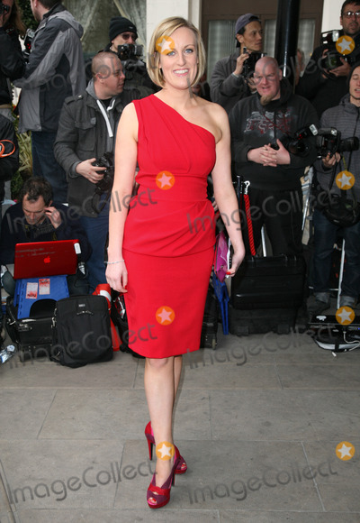Stephanie McGovern Photo - Stephanie McGovern arriving for the TRIC Awards 2012 at the Grosvenor House Hotel London 13032012 Picture by Alexandra Glen  Featureflash