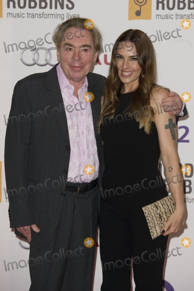 Melanie C,Andrew Lloyd Webber Photo - Silver Clef Awards 2012