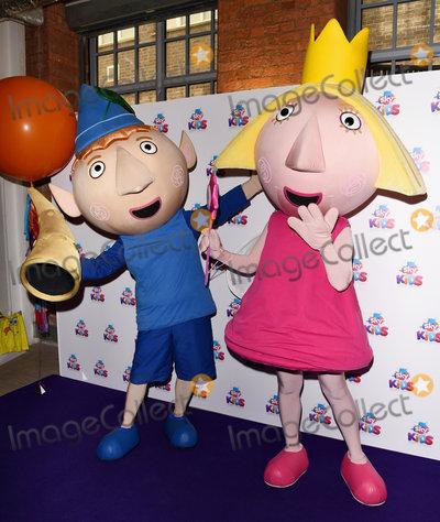 Photo - London UK Sky Kids character - Ben and Holly    at The Sky Kids Cafe Launch Party held at The Vinyl Factory Marshall Street London on Sunday 29 May 2016 Ref LMK392-60616-300516Vivienne VincentLandmark Media WWWLMKMEDIACOM