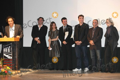 Antonio Garcia Photo - Morelia Michoacan Mexico Alejandro Gonzalez Inarritu Cuauhtemoc Cardenas Batel Daniela Michel Alejandro Ramirez  Javier Bardem Jose Antonio Garcia and Lynn Fainchtein during the Ceremony of Inauguration of 8 Festival the International of Cinema of Morelia 16th October 2010Paulo VidalesLandmark Media