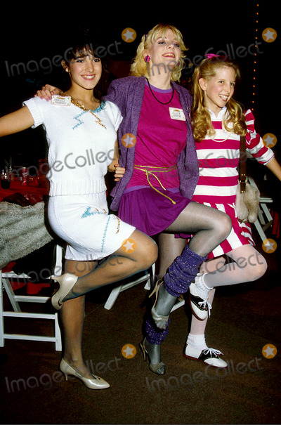 Allison Balson Photo - Daniele Brisebois with Allison Balson and Allison Arngrim 1982 12563 Photo by Philroach-ipol-Globe Photos Inc