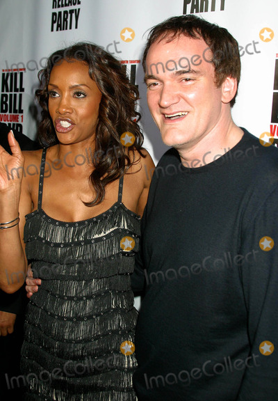 Quentin Tarantino Vivica A Fox Vivica A  Fox Picture - Kill Bill Vol1