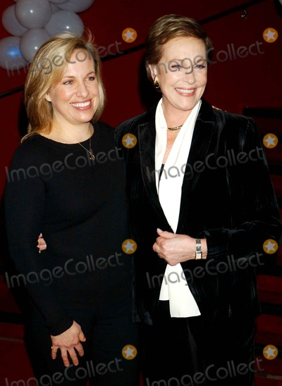 Emma Walton Hamilton Photo - Julie Andrews and Daughter Emma Walton Hamilton National Ambassadors For This Years Kids Night on Broadway at the Ribbon Cutting Ceremony at Madame Tussauds in New York City on 01-30-2007 Photo by Ken Babolscay-ipol-Globe Photosinc