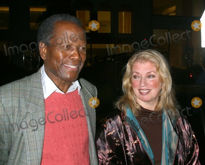 Sidney Poitier,Jackie Collins Photo - Lunch Party For Jackie Collins New Novel