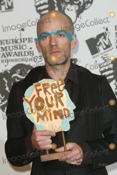 R. E. M.,R.E.M.,Michael Stipe Photo - Archival Pictures - Globe Photos - 78741