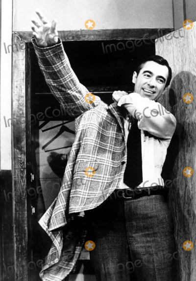 Mr Rogers Photo - At the end of a half hour of entertainment and introspection on Mister Rogers Neighborhood Mister Rogers tells each member of his 3-8 year old audience Youve made this a special day for me by your being youPhotoFamily Communications  Globe Photos  IMFREDROGERSRETRO (MR ROGERS)