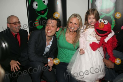 Terri Colombino,John Tartaglia,Elmo Photo - Imaginocean Opening Night New York City