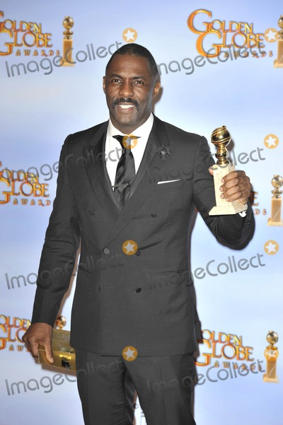 Idris Elba Photo - The 69th Annual Golden Globes Beverly Hills Press Room